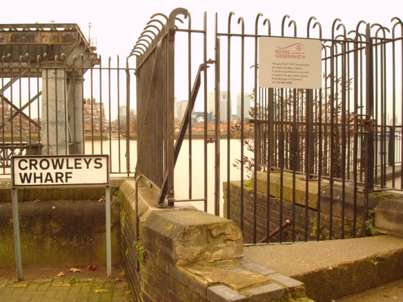 David Neat, Thames foreshore access at Greenwich Power Station