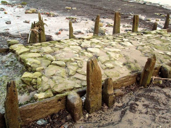 Old causeway at Horn Stairs, Thames Foreshore