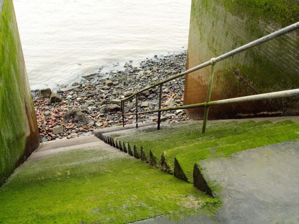 Pageant Stairs, Thames Foreshore