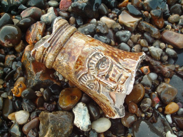 Fragment of 'Bellarmine', Thames Foreshore, Rotherhithe