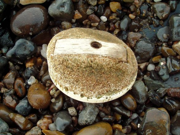 Ivory wheel 'mystery object Thames Foreshore, Rotherhithe