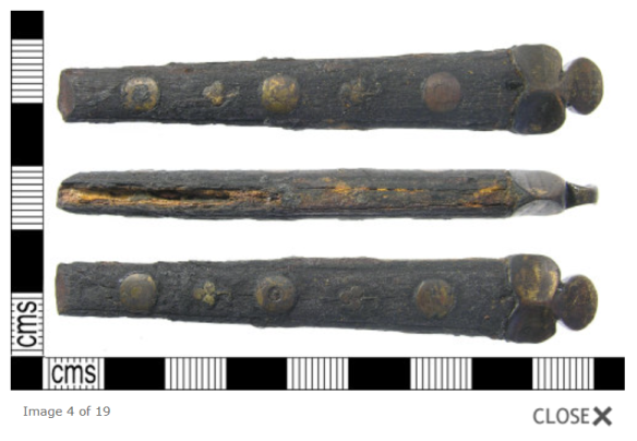 Medieval knife handle, Portable Antiquities Scheme