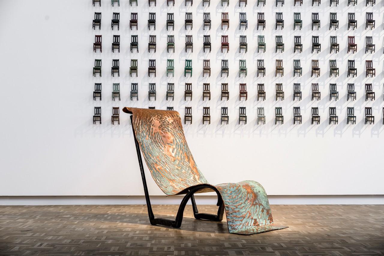 Conrad Hicks 'Copper Chaise', Southern Guild