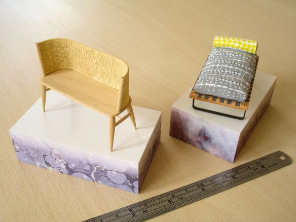 Gareth Neal & Kevin Gauld 'Brodgar Bench', model by David Neat