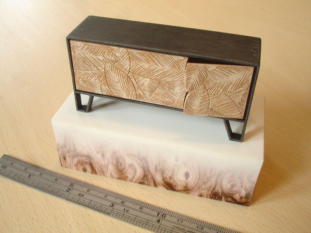 Meyer von Weilligh 'Leaf Sideboard', model by David Neat