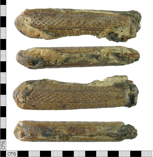 PAS, bone knife handle, 1500-1700