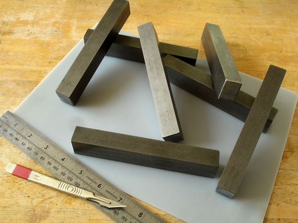 David Neat, essential model-making tools, solid metal guide blocks