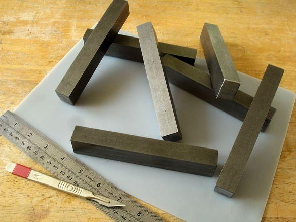 David Neat, essential model-making tools, solid metal guide blocks