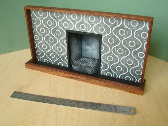 David Neat, 1:10 scale model of 'Peggy Arnold' fireplace