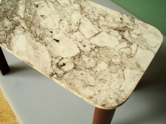 David Neat, 1:10 scale model of marble table, designed by Sue Skeen and The New Craftsmen