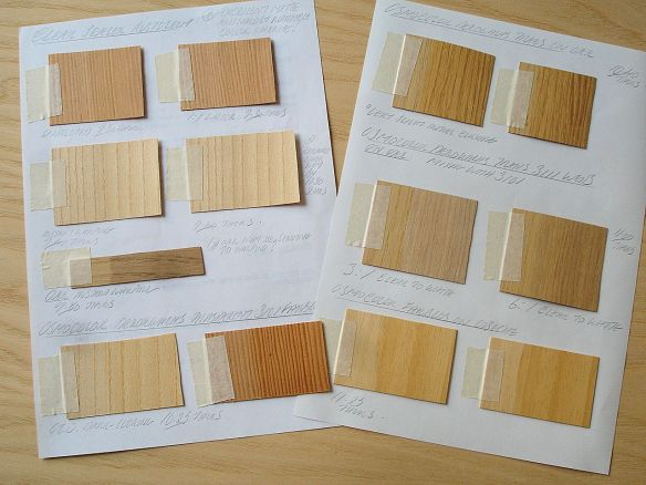 David Neat - tests for best clear, matte wood varnish or sealant - June 2017