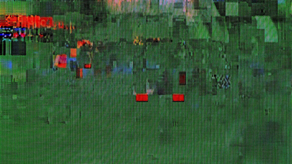 Example of 'glitch art'