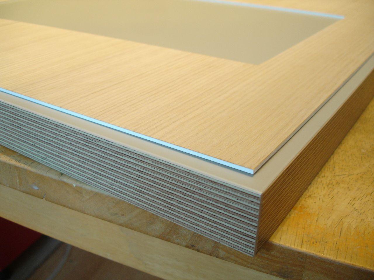 David Neat model-maker, baseboard from IKEA