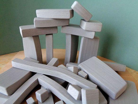 David Neat 'polyvinylhenge', sculptural object group, 2020